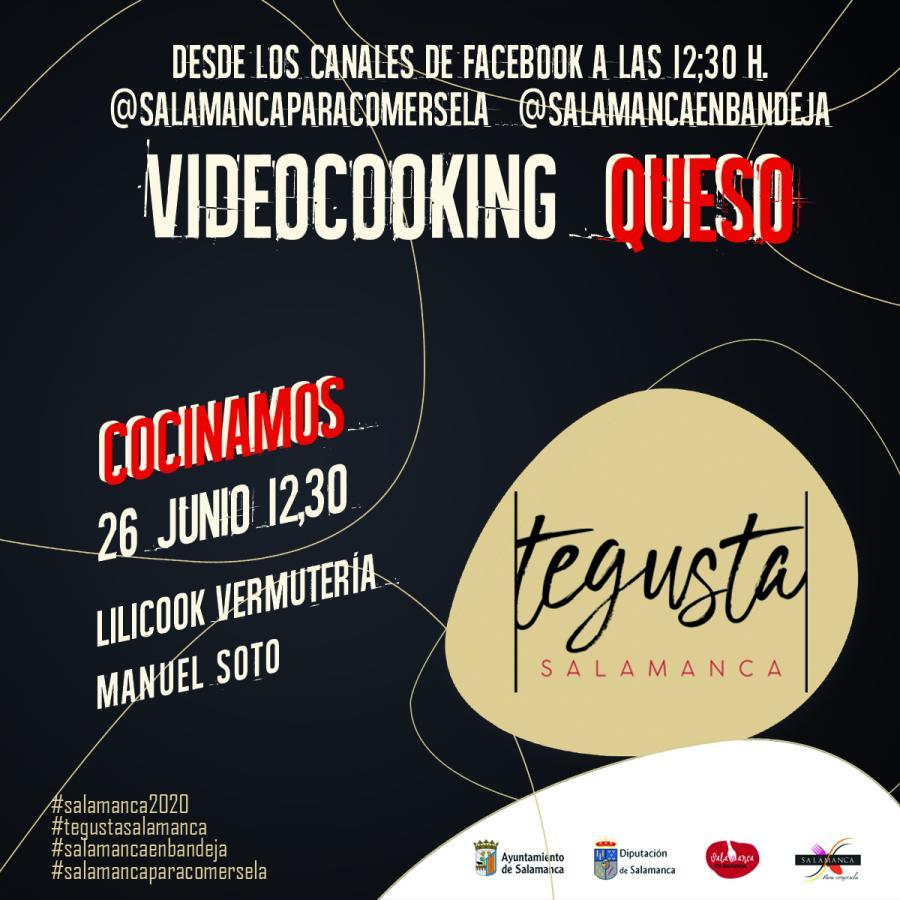 Videocooking Quesos de Salamanca - Lilicook Vermutería - #TeGustaSalamanca