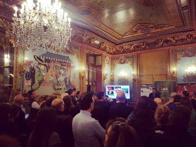 Presentación gastronomía salmantina en Madrid