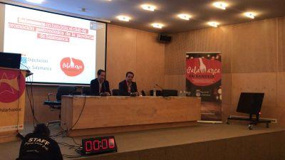 Presentación de Salamanca en Bandeja en Startup Olé