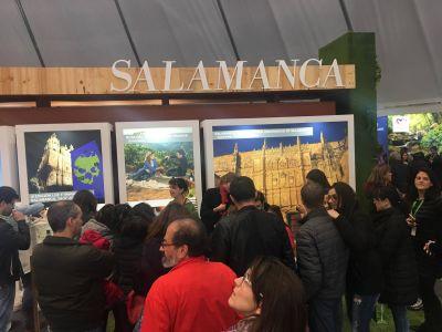 Salamanca en Bandeja en la Feria de Turismo de Guarda