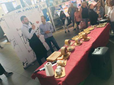 La gran mesa de quesos de Salamanca