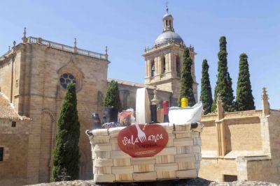 Sorteo de cestas Salamanca en bandeja