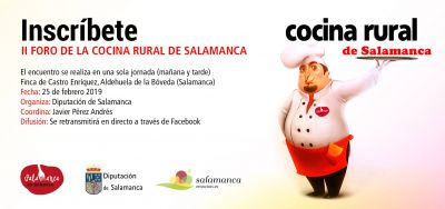 II Foro de Cocina Rural de Salamanca