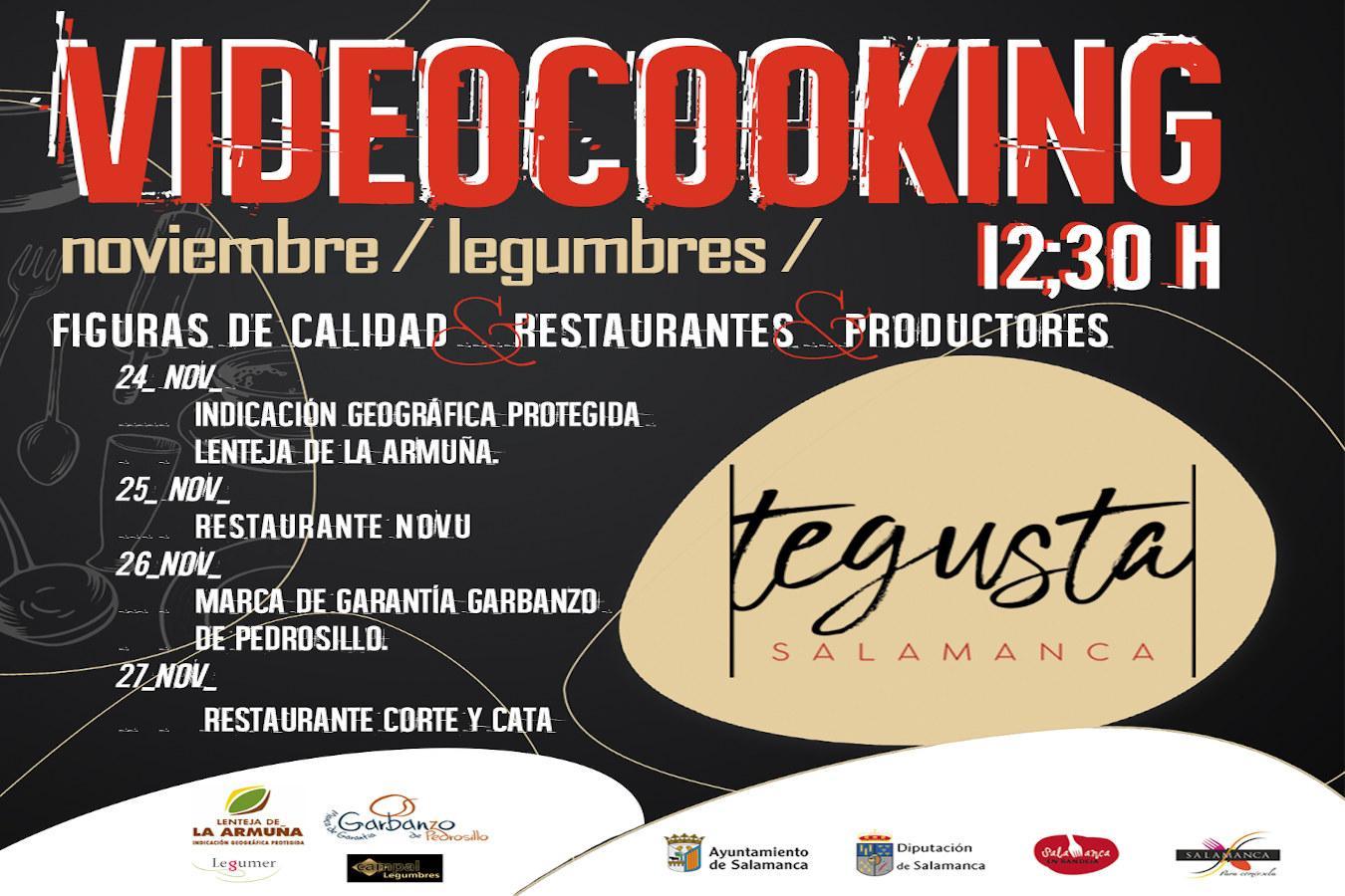 Noviembre: mes de las legumbres en TeGusta Salamanca