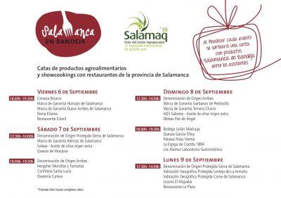 Salamaq´19 contará con la presencia de Salamanca en bandeja